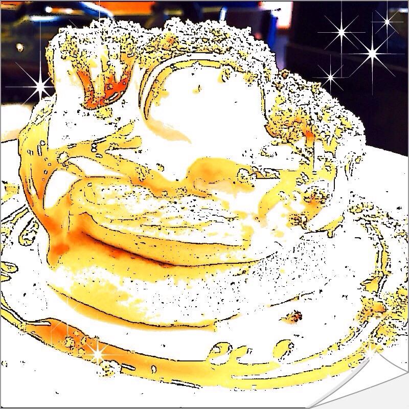 【グルメ探偵】視覚でKO!揺れるパンケーキ