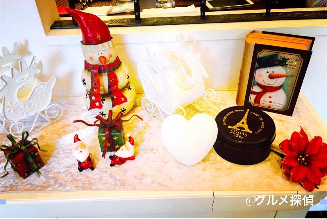 【グルメ探偵】※画像4 クリスマス装飾