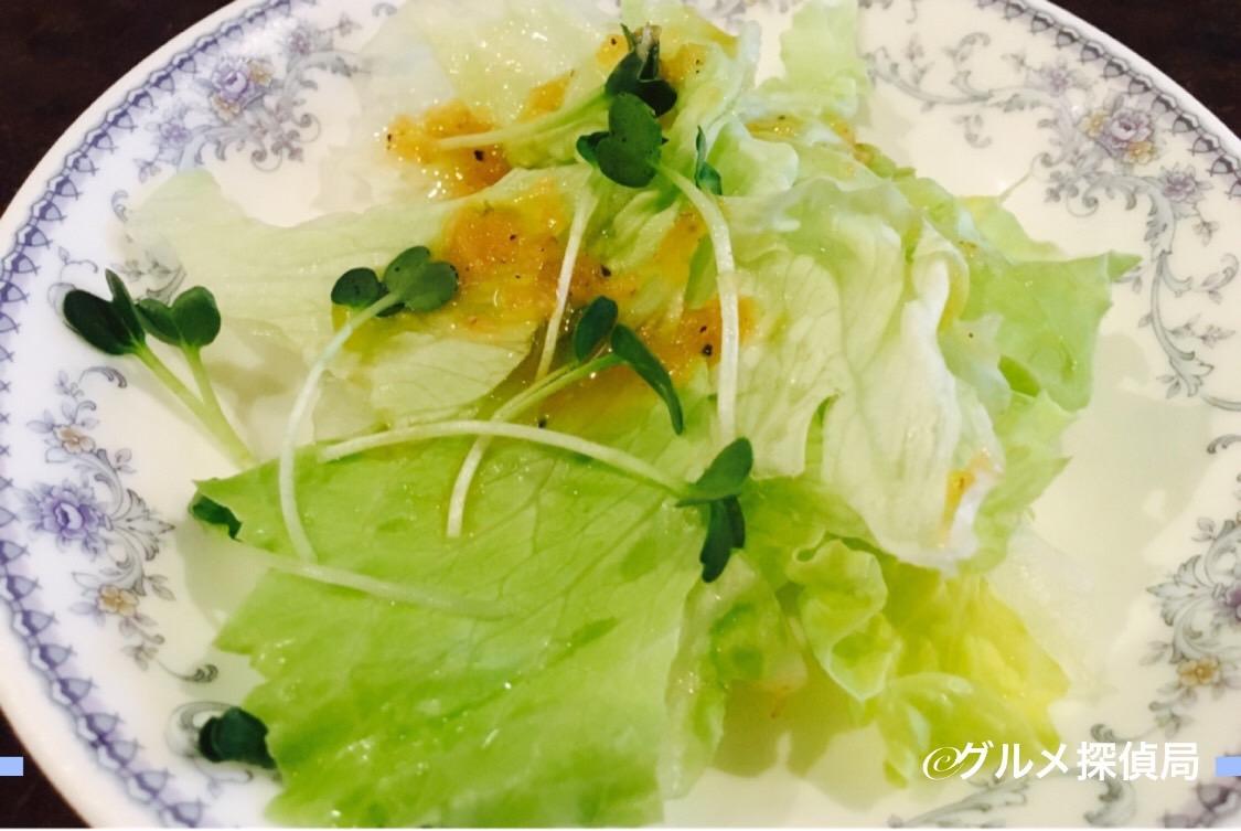 【グルメ探偵局】※画像7 セットのサラダ