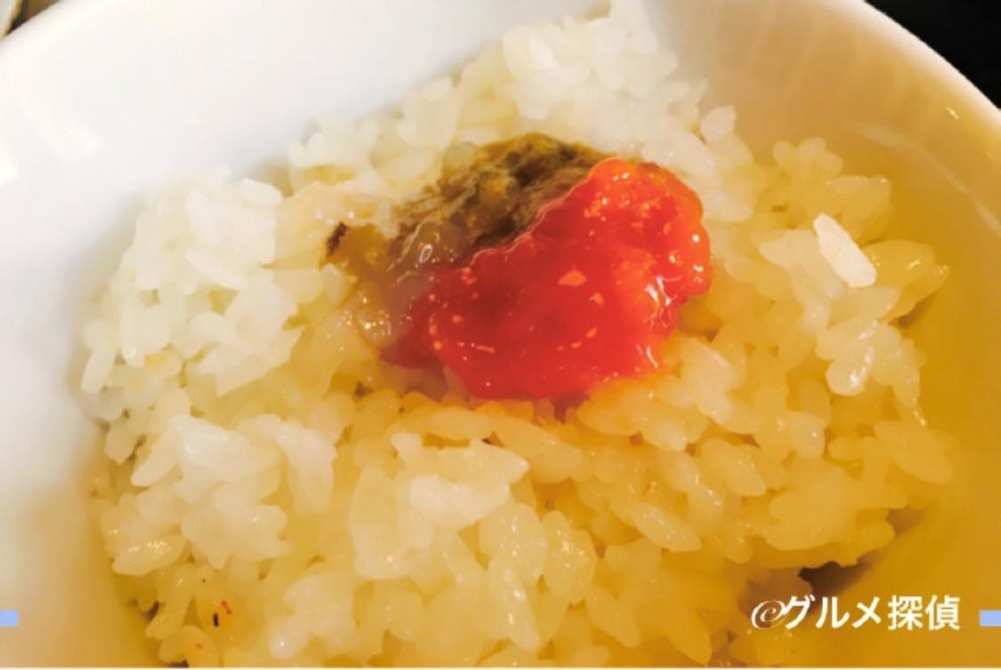 【グルメ探偵】※画像6 味噌をご飯の上に乗せた様子