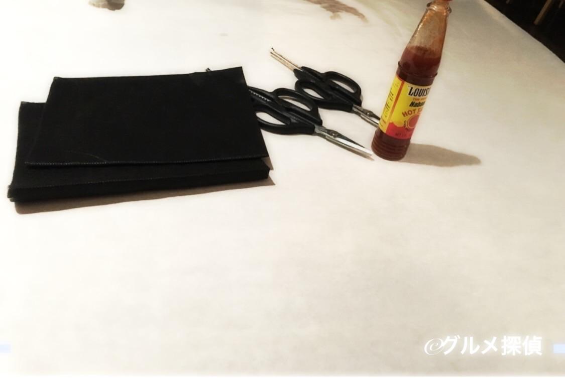 【グルメ探偵】※画像6 テーブル再セッティング