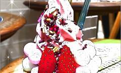 カラフルな苺ソフト!チョコットミルクバーのモフモフベリーベリー
