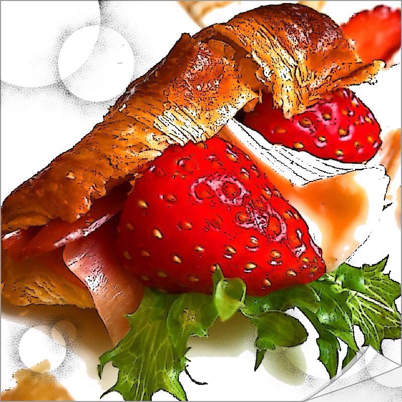 【グルメ探偵局】苺サラダにイチゴピザ!チリエージョでいちご尽くしのランチコース!