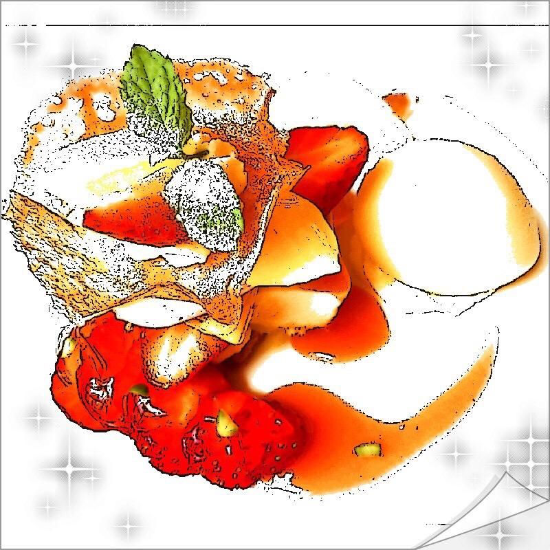 【グルメ探偵局】資生堂ビル15周年!夏いちご'恋姫'を使用した苺パフェに特製デザート!