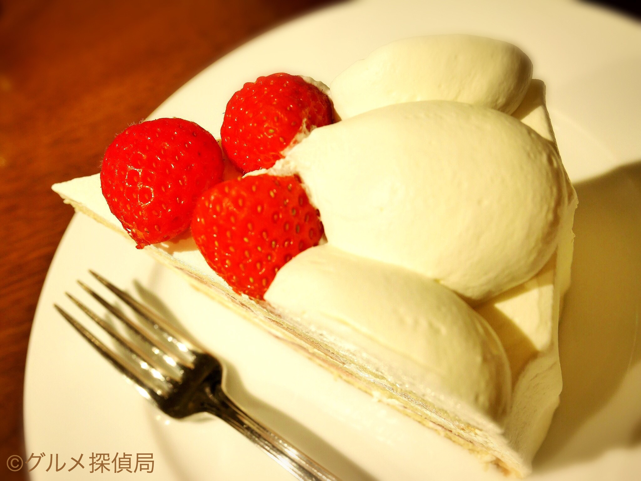 【グルメ探偵局】※画像2 夏いちごのケーキ